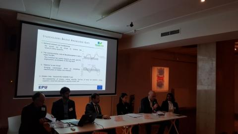 Discussion on Sectorial and regional/national/local trade-offs and synergies between climate, economic and sustainable development goals. With Onélica Andrade, Shonali Pachauri, David Tabara, Haris Doukas, Cyril Loisel, and Sandy Bisaro
