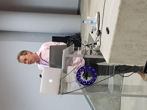 Dr Oscar van Vliet from ETH presented how TRANSrisk engaged stakeholders to find the missing risks in climate policy.
