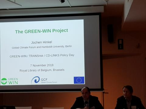 Welcome speech by the European Commission's Franz Immler and Tom van Ierland from DGCLIMA and EASME