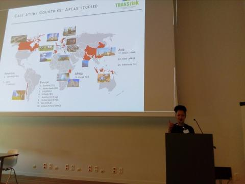 Jenny Lieu kicks off TRANSrisk Policy Lunch Paris in Practice