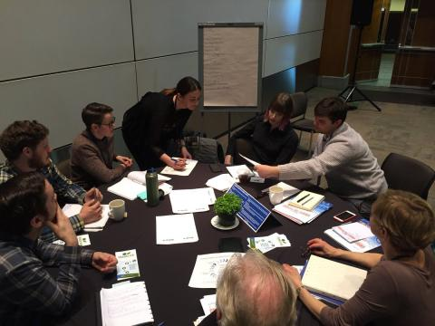 Sustainable development discussions in stakeholder group